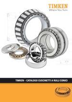 Catalogo dei cuscinetti a rulli conici Timken