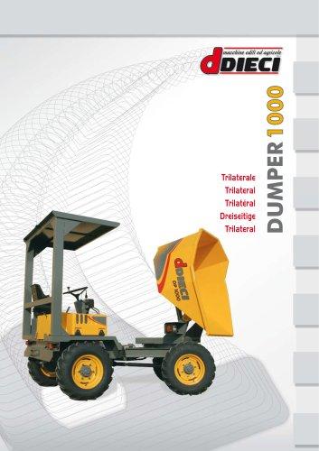 DUMPER 1000/1200 SN with side dump (DE-FR-ES-IT)