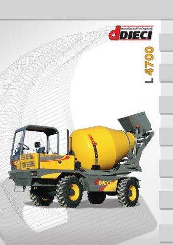 TRUCK MIXER L 4700 (DE-FR-ES-IT)