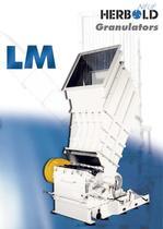 Plastic Granulators LM Series