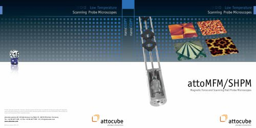 attoMFM/SHPM, Magnetic Force and Scanning Hall Probe Microscopes