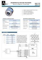 ARS-S Shaft Encoder , Magnetic , 50mm body size
