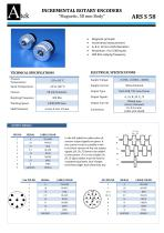 ARS-S Shaft Encoder , Magnetic , 58mm body size