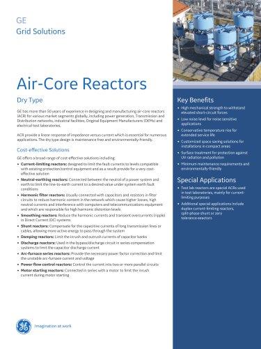 Air-Core Reactors