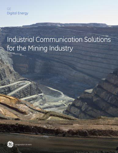 Digital Energy Industrial Communications Mining Brochure