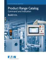 Product Range Catalog Command and Indication