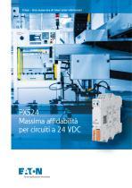PXS24 Massima affi dabilità  per circuiti a 24 VDC