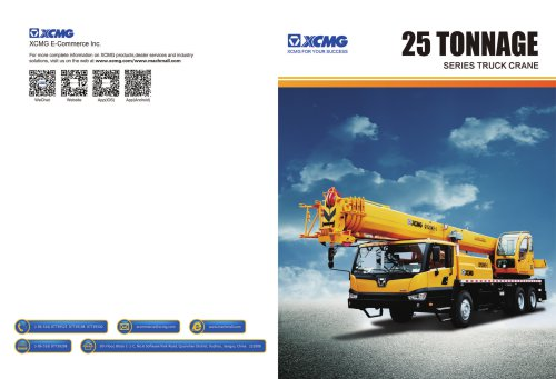XCMG 25Ton Series Truck Crane Construction