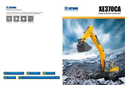 XCMG 37Ton Large Hydraulic Excavator XE370CA