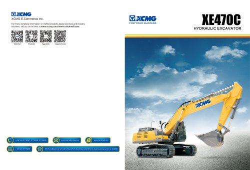 XCMG 47Ton excavator XE470C construction