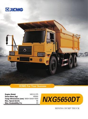 XCMG Mining Dump Truck NXG5650DT