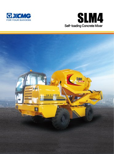 XCMG SELF-LOADING CONCRETE MIXER SLM4