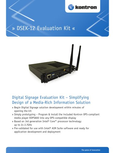 Digital Signage Evaluation Kit