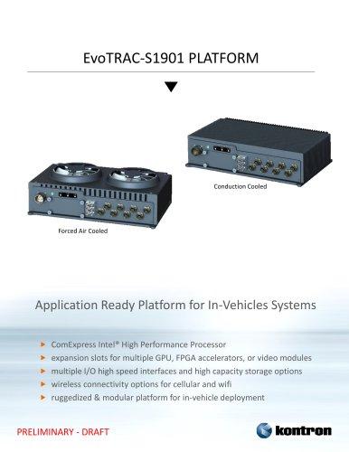 EvoTRAC-S1901 PLATFORM