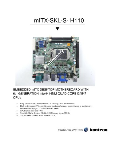 mITX-SKL-S-H110