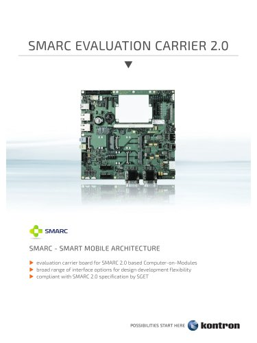 SMARC Evaluation Carrier 2.0