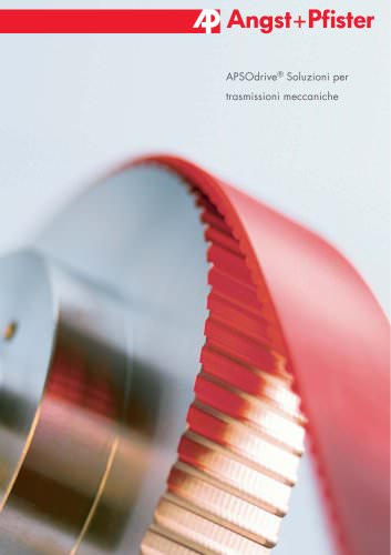 APSOdrive® Soluzioni per trasmissioni meccaniche