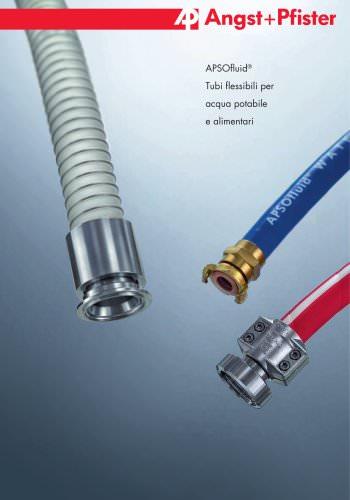 APSOfluid® Tubi flessibili per acqua potabile e alimentari