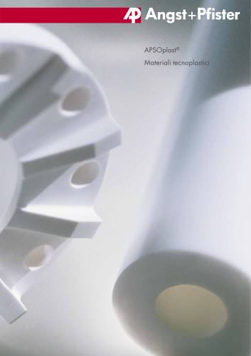 APSOplast® - Materiali Tecnoplastici