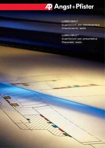 LUBROSEAL® Guarnizioni per oleodinamica / LUBRORING® Guarnizioni per pneumatica