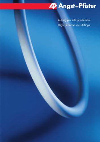 O-Ring per alte prestazioni