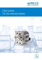 Chemical gear pumps