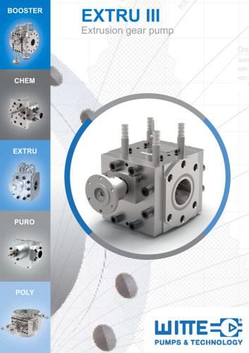 EXTRU III - Extrusion Gear Pump