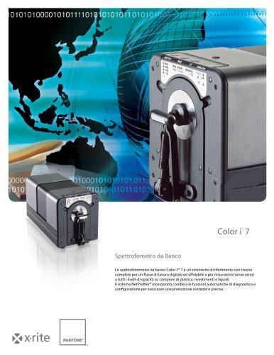 Color i7 spettrofotometro da banco
