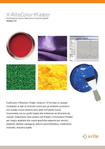 Software X-RiteColor® Master