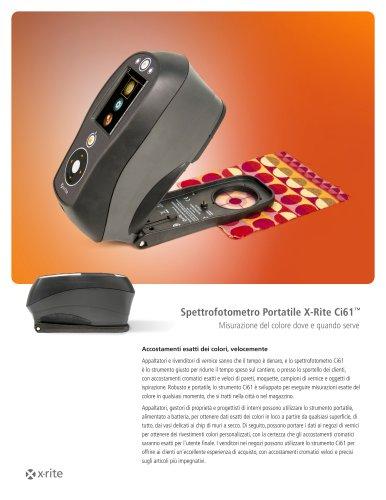 Spettrofotometro Portatile X-Rite Ci61™