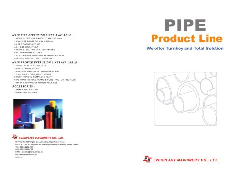pipe line product