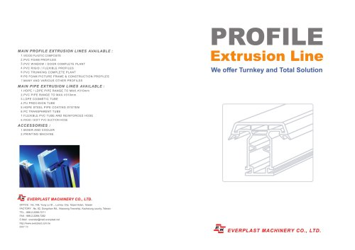 profil line products