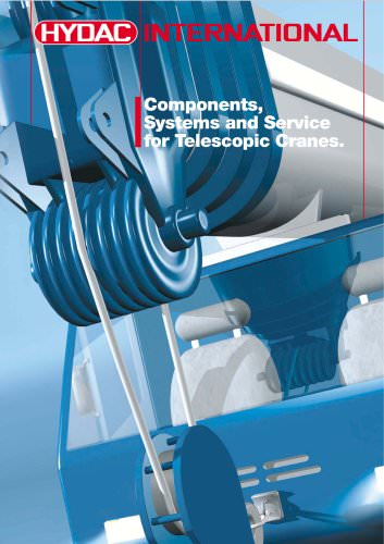 Components, Systems and Service for Telescopic Cranes