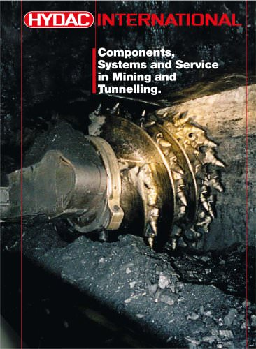 Components, Systems and Service in Mining and Tunnelling.