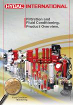 Filtration and Fluid Conditioning. Product Overview.