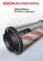 Fluid Filters. Product Catalogue.