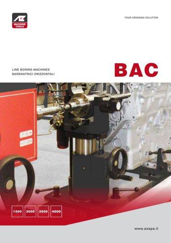 BAC Barenatrici per blocco motore