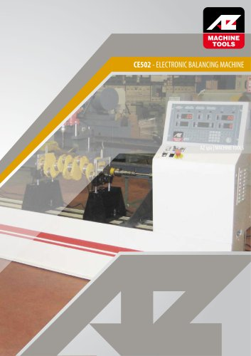 CE502 - ELECTRONIC BALANCING MACHINE