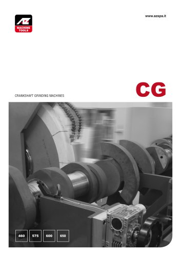 CG460-500-575-600-650  Crankshaft Grinding machines