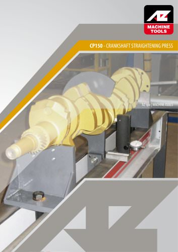 CP Crankshaft Straightening Press machine