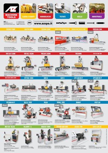 Una linea completa di rettificatrici per la ricostruzione del motore