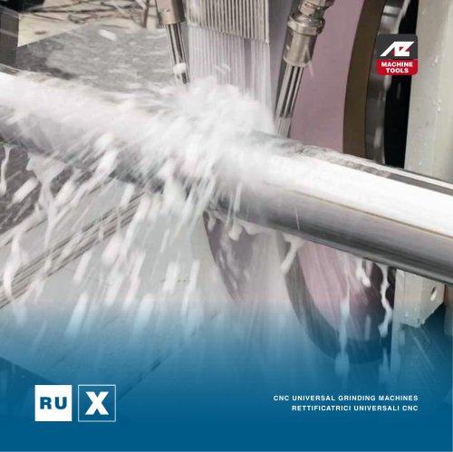 RUX Rettificatrice Universale CNC