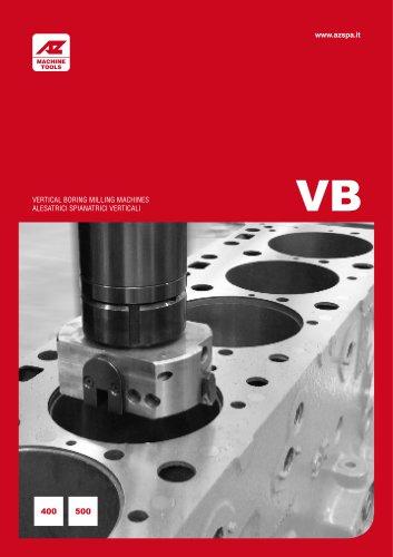 VB400-500 Alesatrici spianatrici verticali