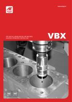VBX Alesatrici Spianatrici Verticali CNC
