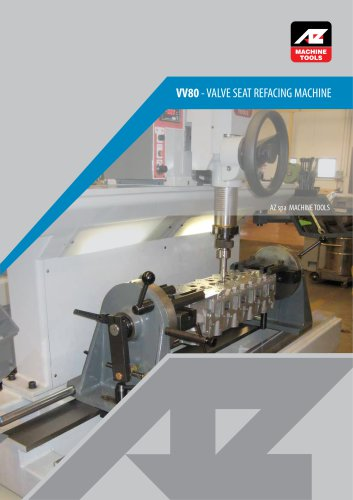 VV Valve Seat Refacing machines