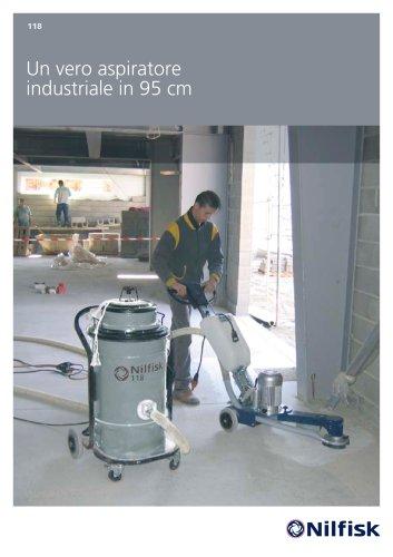 118 - Un vero aspiratore industriale in 95 cm di altezza