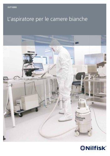 IVT1000 - L'aspiratore per le camere bianche