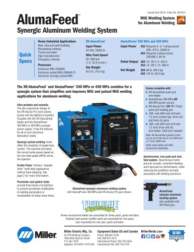 AlumaPower™ 350 MPa