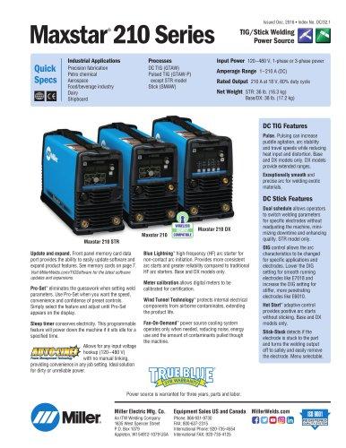Maxstar® 210 Series