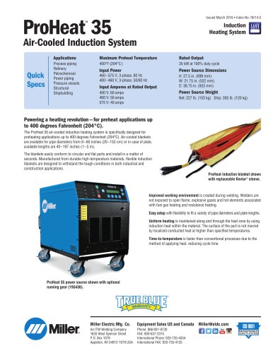 ProHeat™ 35 Air-Cooled Induction System
